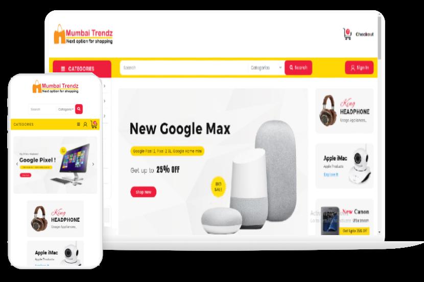 Ecommerce website development company mumbai, india